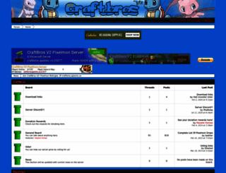 craftbros.boards.net screenshot
