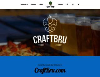 craftbru.co.za screenshot