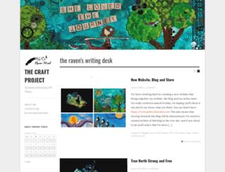 craftchick.wordpress.com screenshot