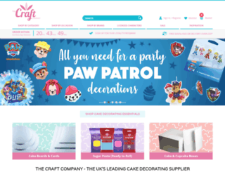 craftcompany.co.uk screenshot