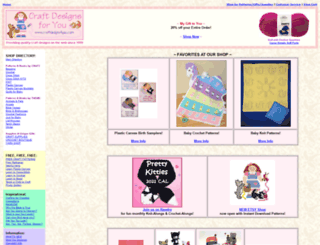 craftdesigns4you.com screenshot