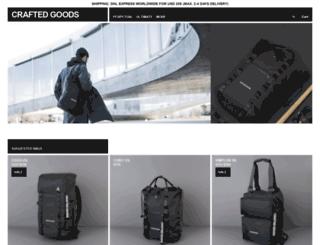 craftedgoods.com screenshot