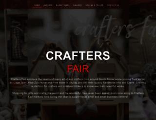craftersfair.co.za screenshot