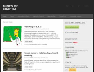craftia.org screenshot