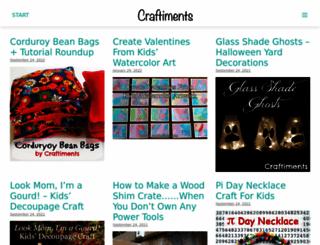 craftiments.com screenshot