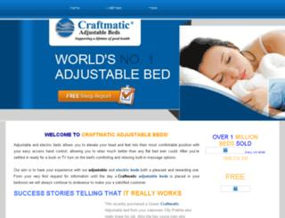 craftmaticbeds.weebly.com screenshot