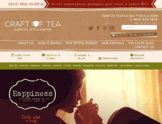 craftoftea.com screenshot