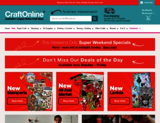 craftonline.com.au screenshot