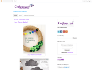 craftowncom.blogspot.com screenshot