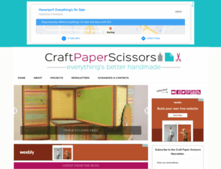 craftpaperscissors.com screenshot