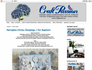 craftpassion-pl.blogspot.ie screenshot