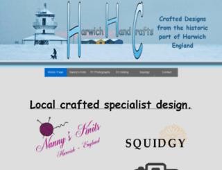 crafts.harwichhc.co.uk screenshot