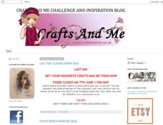 craftsandmeinspiration.blogspot.ch screenshot