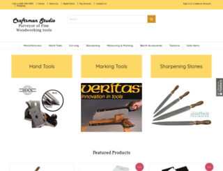 craftsmanstudio.com screenshot