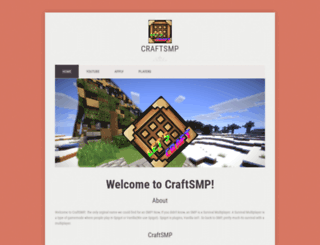 craftsmp.zohosites.com screenshot