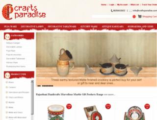 craftsparadise.com screenshot