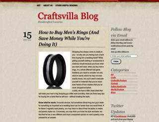 craftsvilla.wordpress.com screenshot