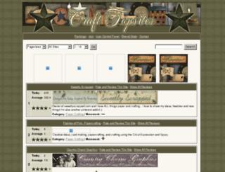 crafttopsites.com screenshot