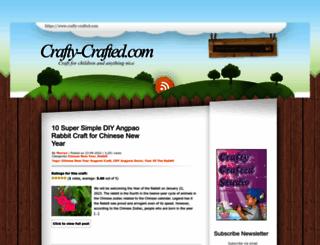 crafty-crafted.com screenshot