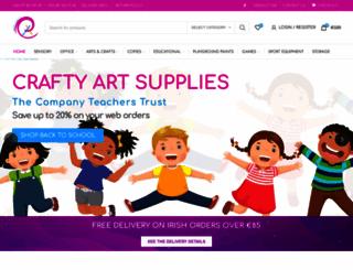 craftyart.ie screenshot