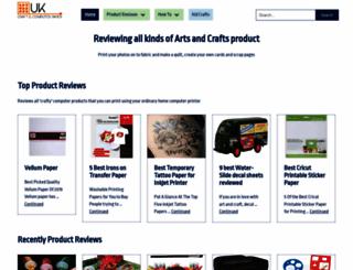 craftycomputerpaper.co.uk screenshot
