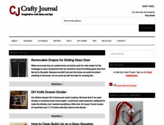 craftyjournal.com screenshot