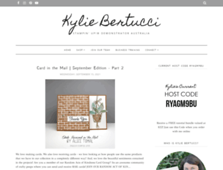 craftykylie.com screenshot