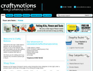 craftynotions.com screenshot