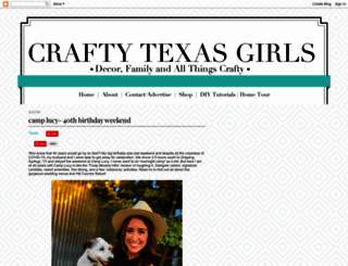 craftytexasgirls.com screenshot