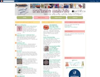 craftzone-my.blogspot.com screenshot