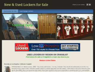 craigslistlockerscom.ipage.com screenshot