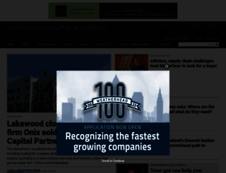 crainscleveland.com screenshot