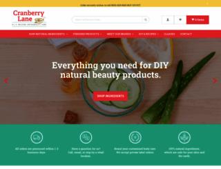 cranberrylane.com screenshot