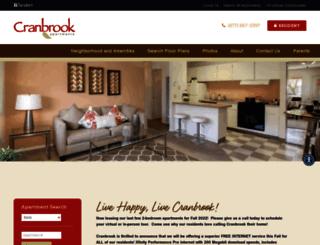 cranbrook.tandemproperties.com screenshot