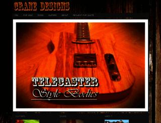 crane-designs.com screenshot
