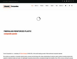 cranecomposites.com screenshot
