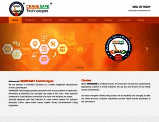 cranesafeindia.com screenshot