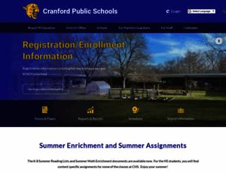 cranfordschools.org screenshot