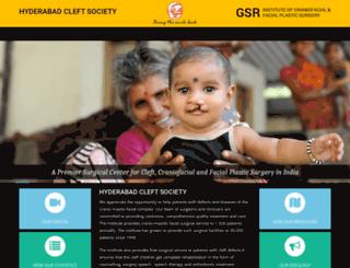 craniofacialinstitute.org screenshot