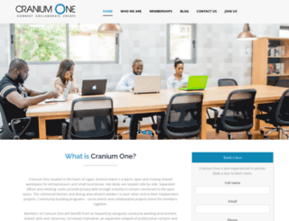 cranium-one.com screenshot