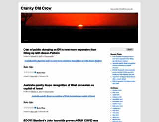 crankyoldcrow.wordpress.com screenshot