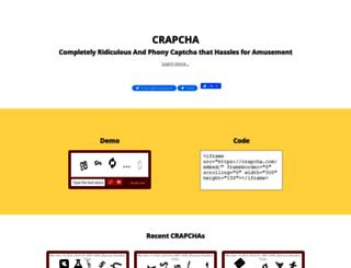 crapcha.com screenshot