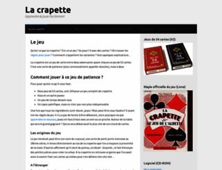crapette.org screenshot