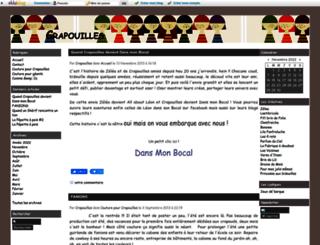 crapouillesetcie.eklablog.com screenshot