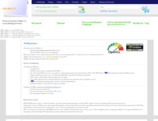 crark.net screenshot