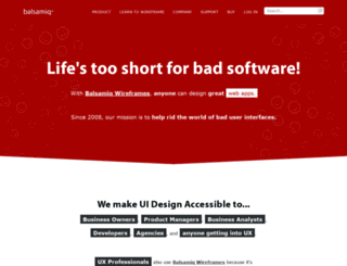 crash.mybalsamiq.com screenshot