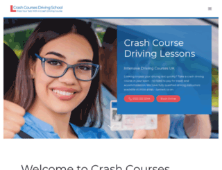 crashcoursesdrivingschool.co.uk screenshot