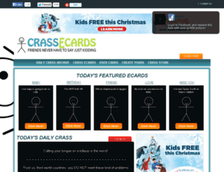 crassecards.com screenshot