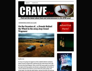 cravedfw.com screenshot