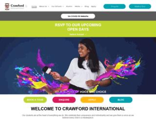 crawfordschools.co.za screenshot